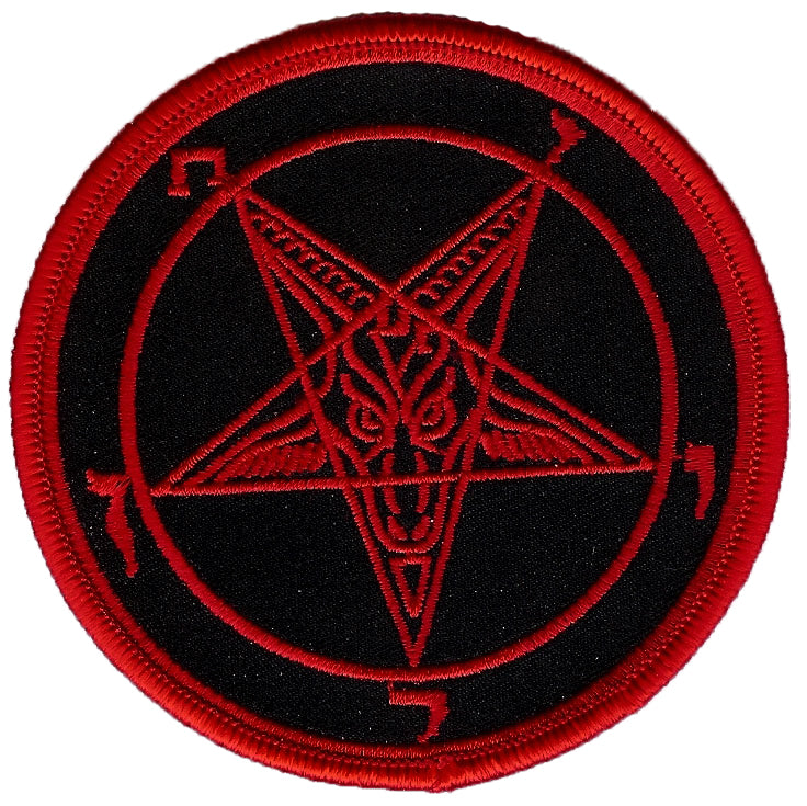 Baphomet Sigil Red Patch