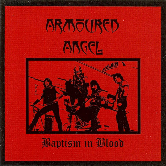 Armoured Angel Baptism in Blood CD