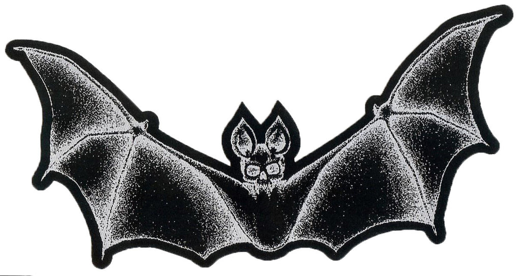 Bat Skeleton Black Patch