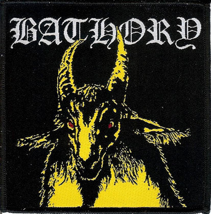 Bathory Yellow Goat Patch