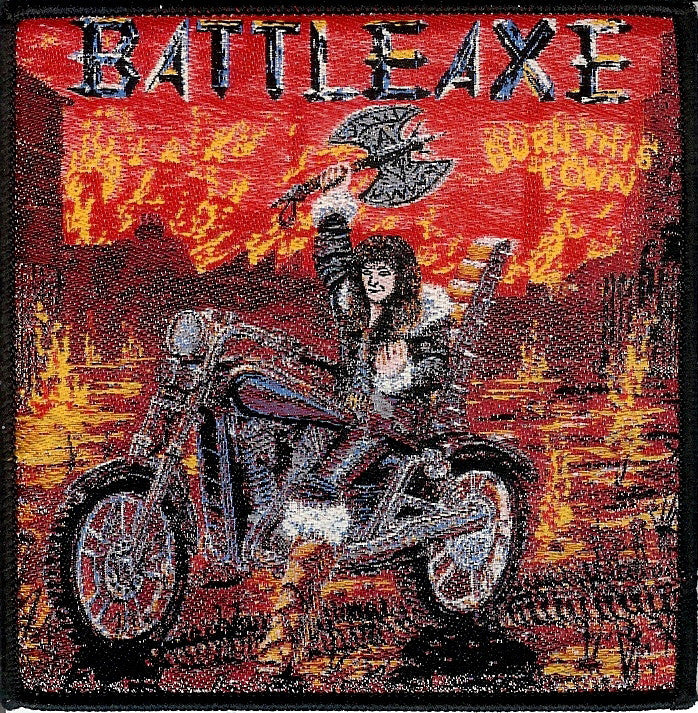 Battleaxe Burn this town Patch