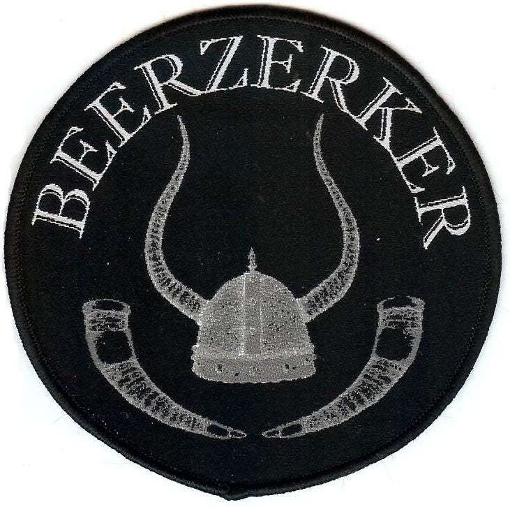 Beerzerker Round Patch