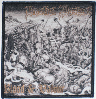 Bestial Warlust Blood & Valour Woven Patch