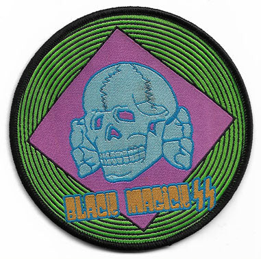 Black Magic SS Round Woven Patch