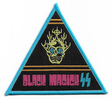 Black Magic SS Triangle Woven Patch