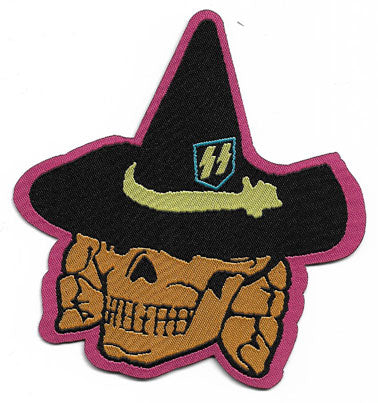 Black Magic SS Witch Woven Patch