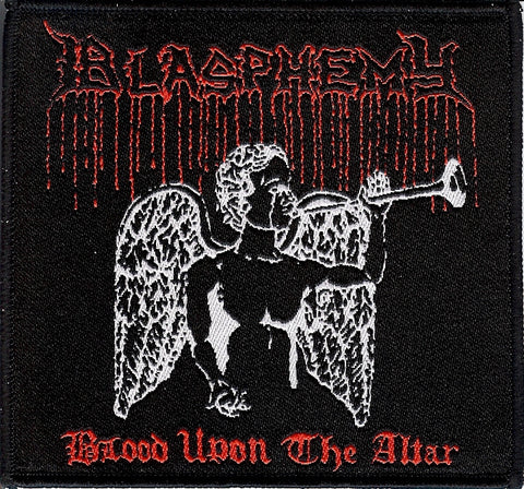 Blasphemy Blood Upon the Altar Patch