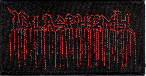 Blasphemy Blood Upon the Altar Logo Patch