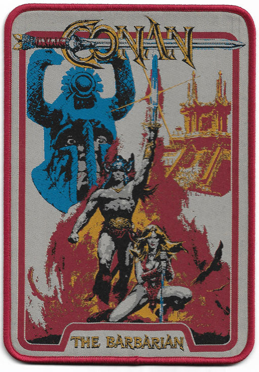 Conan The Barbarian Extra Large Woven Patch
