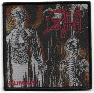 Death - Human Woven Patch