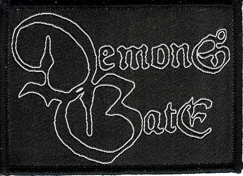 Demons Gate Logo Woven Patch