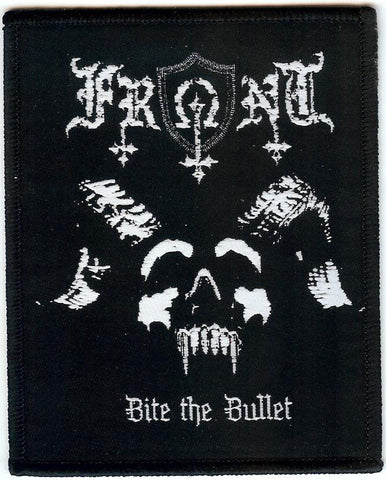 Front Bite The Bullet Woven Patch