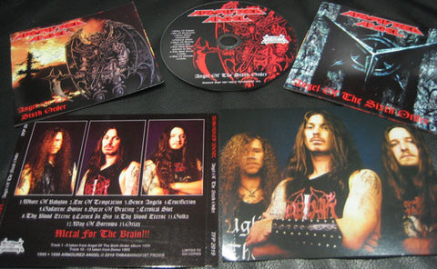 Armoured Angel - Angel of the Sixth Order + Demo '95 CD