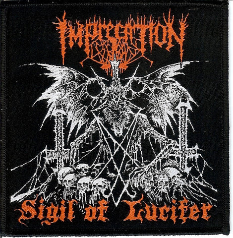 Imprecation Sigil of Lucifer Patch