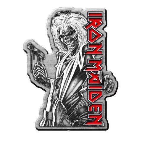 Iron Maiden Killers Metal Pin
