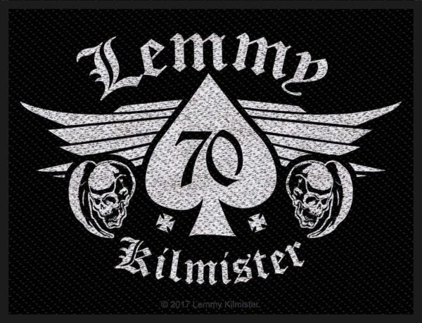 Lemmy Kilmister 70 Patch
