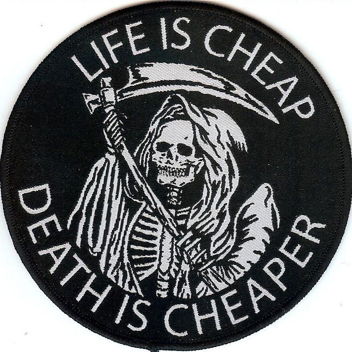 Life is cheap Patch