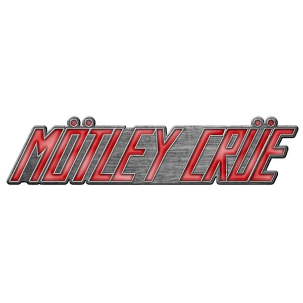 Motley Crue Metal Pin