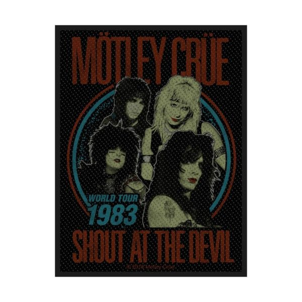 Motley Crue Shout at the Devil Patch