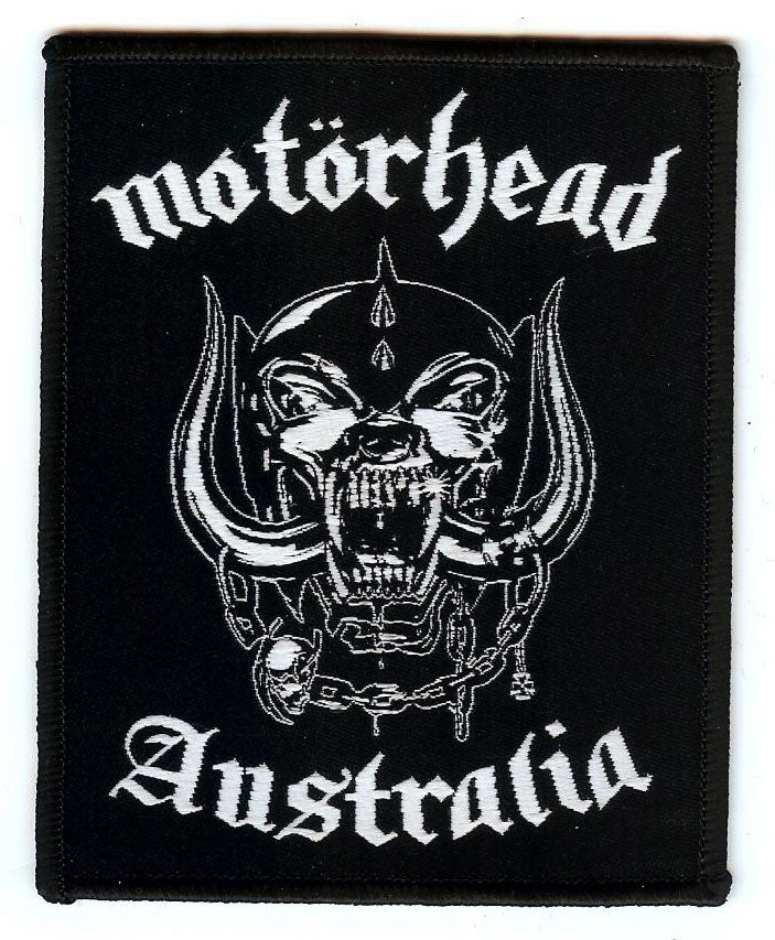 Motorhead Australia Patch