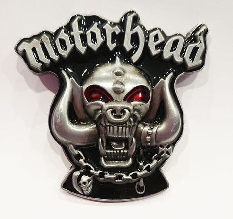Motorhead Warpig Belt Buckle