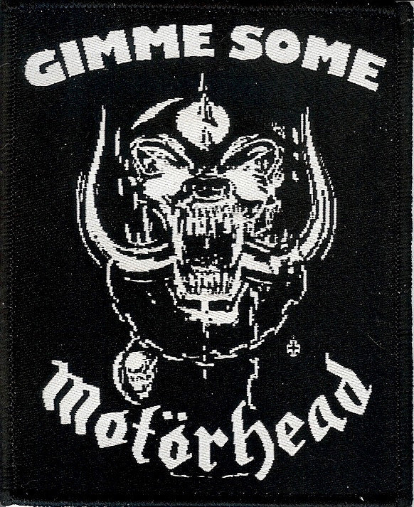 Gimme Some Motorhead Patch