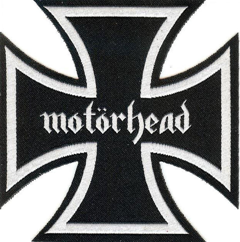 Motorhead Iron Cross Patch