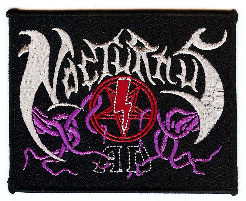 Nocturnus A.D. Logo Embroidered Patch