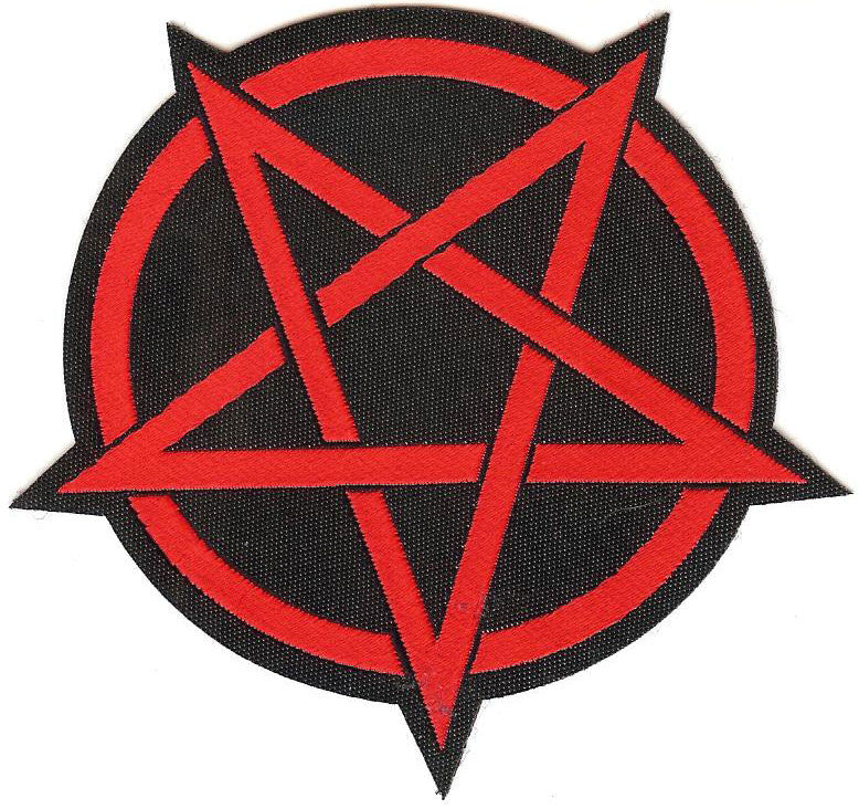 Red Pentagram Patch