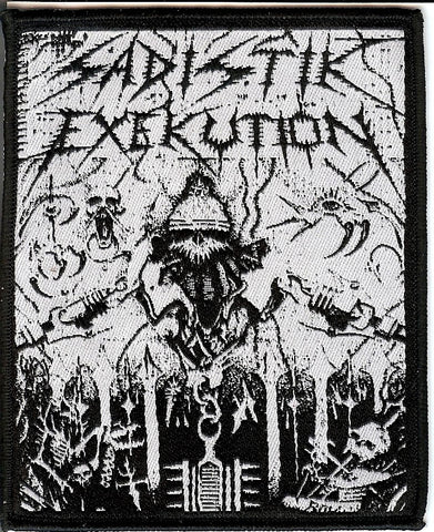 Sadistik Exekution Helmet Patch