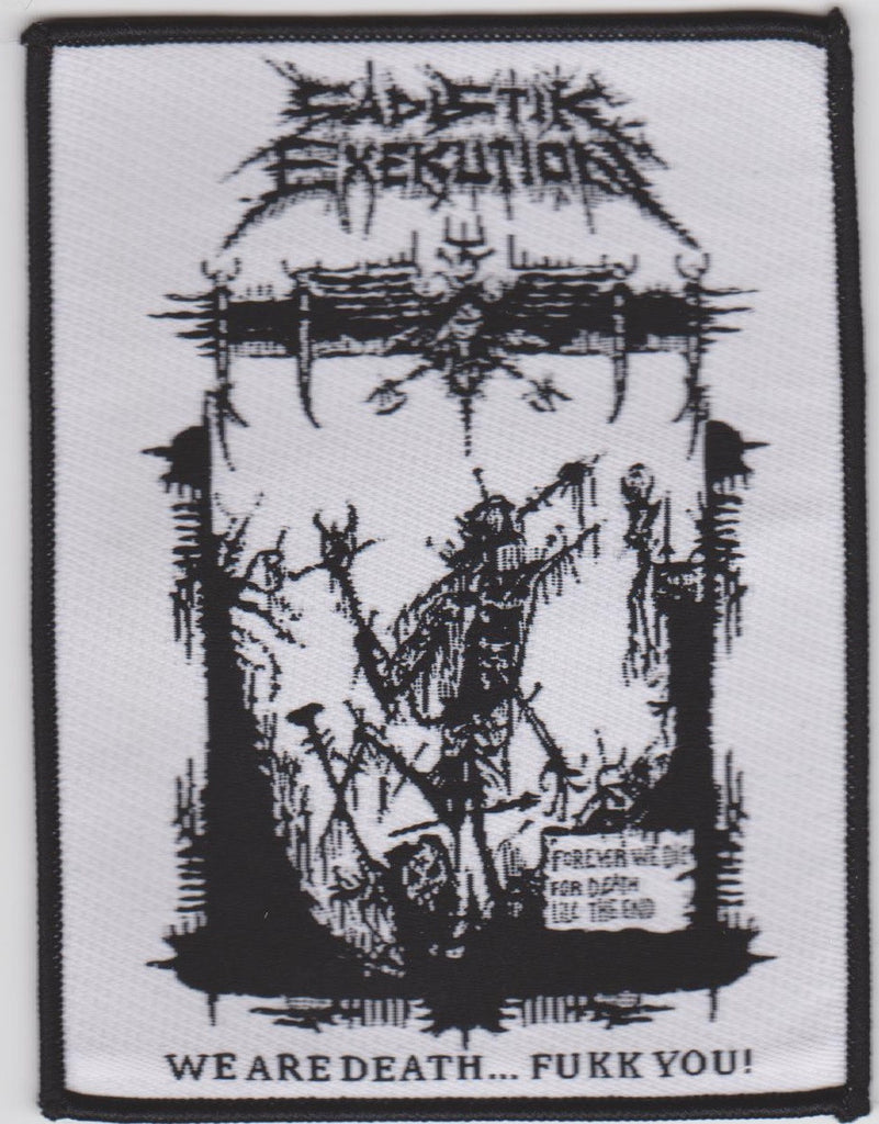 Sadistik Exekution We Are Death Patch