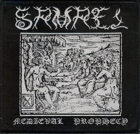 Samael Medieval Woodcut Patch