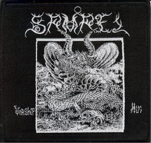 Samael Worship Him Patch