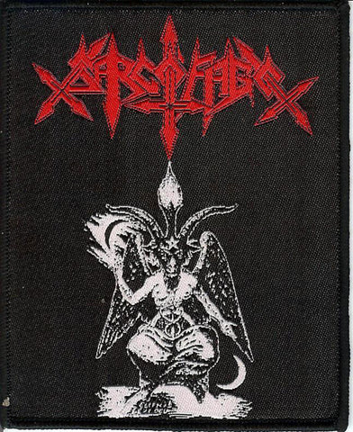 Sarcofago Baphomet Patch