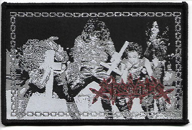Sarcofago Group Shot Woven Patch
