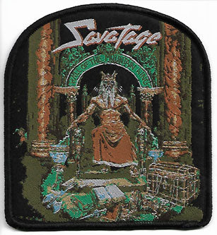 Savatage Hall Of The Mountain King Woven Patch
