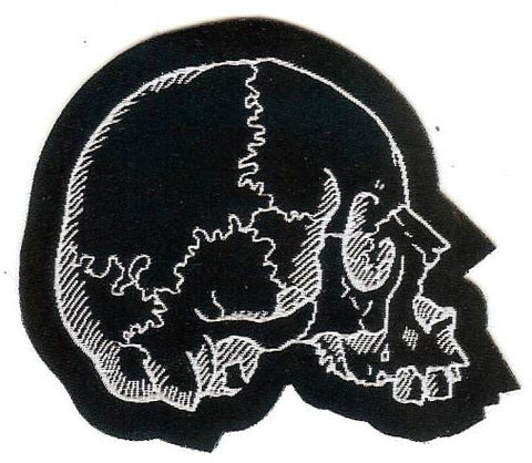 Right Facing Skull Patch
