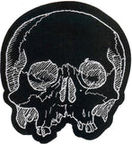 Jawless Skull Patch