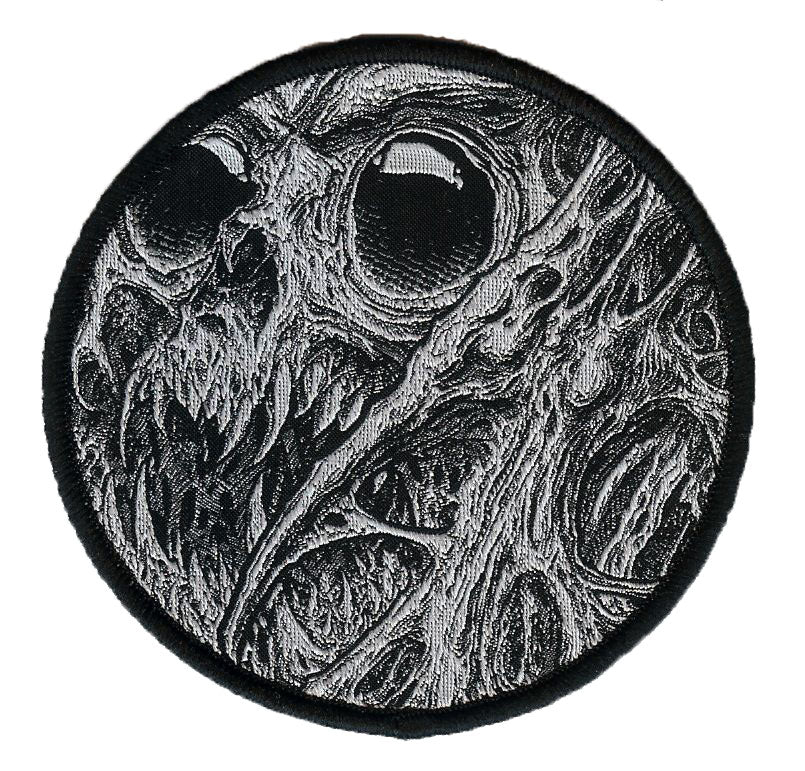 Spudd Tattoo Round Woven Patch