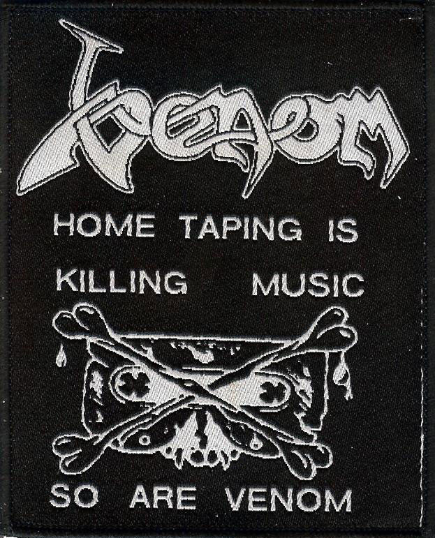 Venom Home Taping Patch