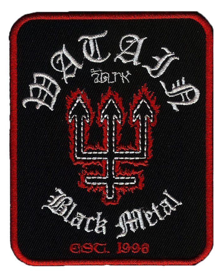 Watain Black Metal Embroidered Patch