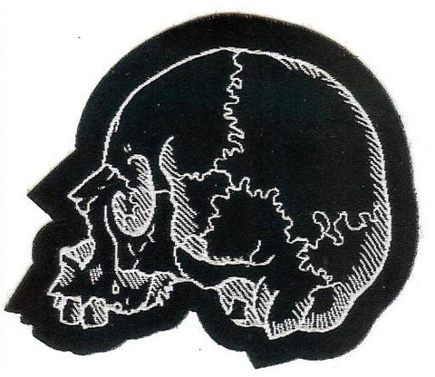 Left Facing Skull Patch