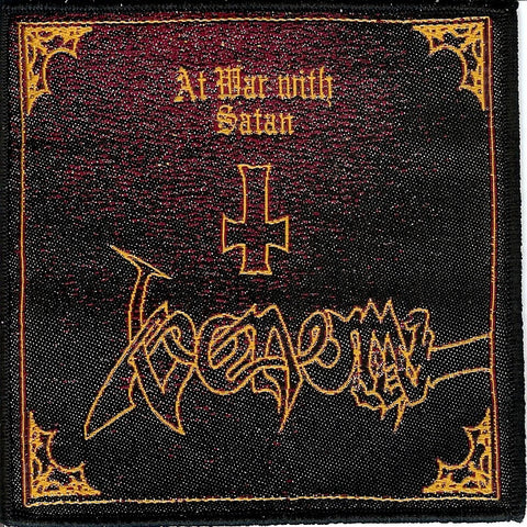Venom At War with Satan Patch