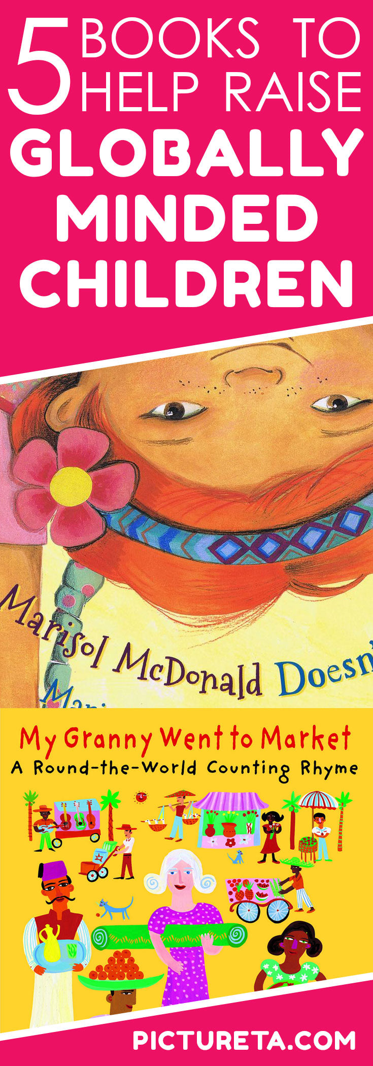 5 Books To Help Raise Globally Minded Children Pictureta