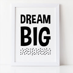 dream big nursery decor printable