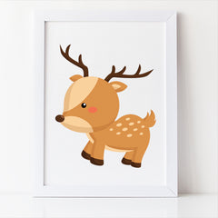 woodland nursery decor deer free printable
