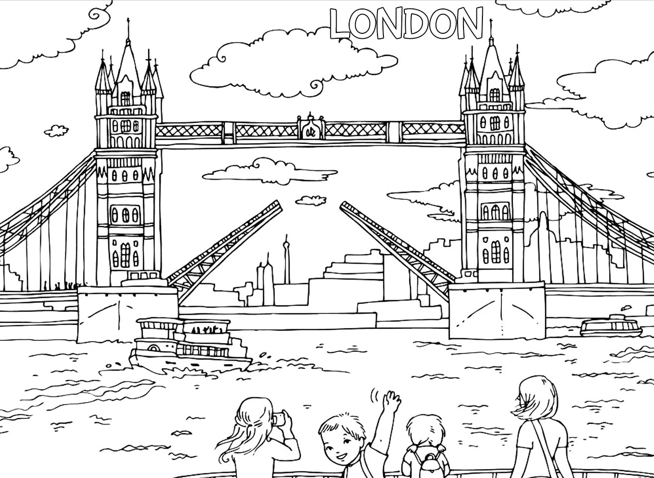 11 free travel inspired coloring pages for kids u2013 pictureta
