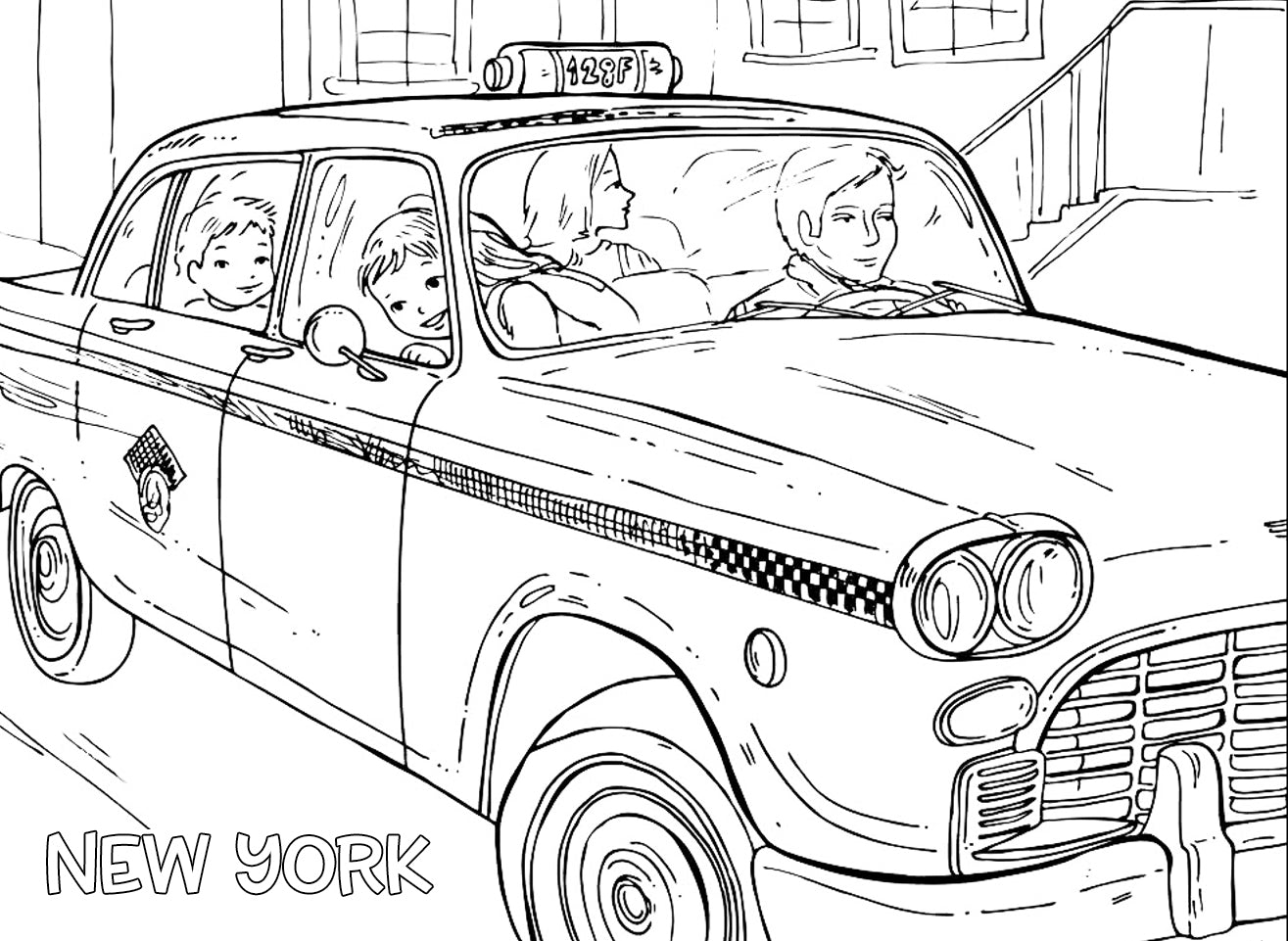 new york coloring pages for kids virtren com
