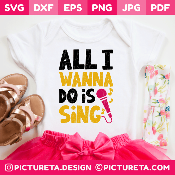 Music SVG | Sing Svg | Baby Svg | Toddler SVG Files