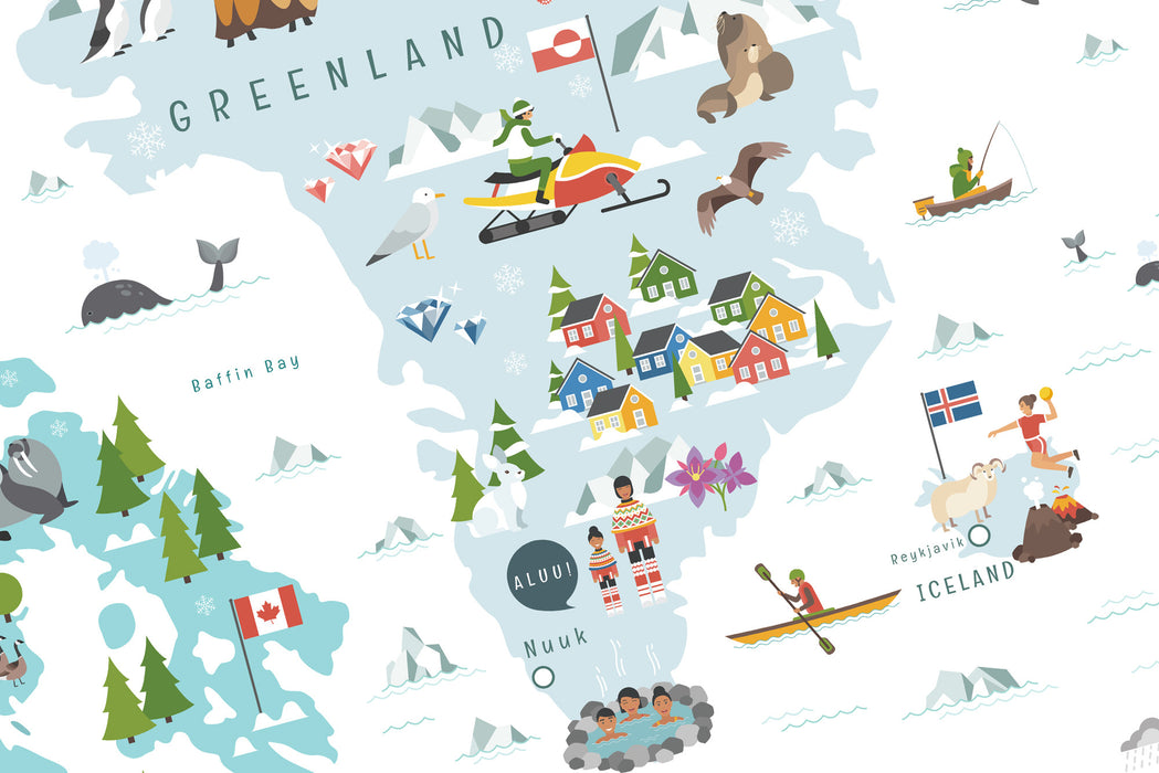 map of greenland, My Travel Map, Interactive World Map for Kids, Map of The World, World Map for Kids, World map with countries, interactive map, World Map with country names, Map of the world for kids, World Travel Map, Kids world travel guide, Where I've been map, interactive map of the world, map illustration, interactive map of the world, kids map, laminated world map, interactive world map for kids, bucket list map, kids map of the world, cool maps of the world, interesting world maps, bucket list worl